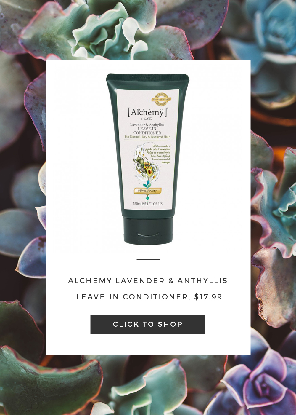 Alchemy Leave In Conditioner