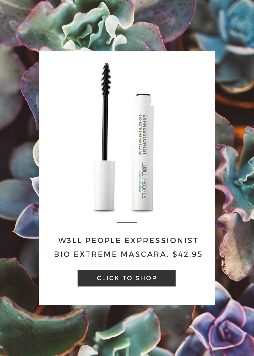 W3LL PEOPLE Expressionist Bio Extreme Mascara