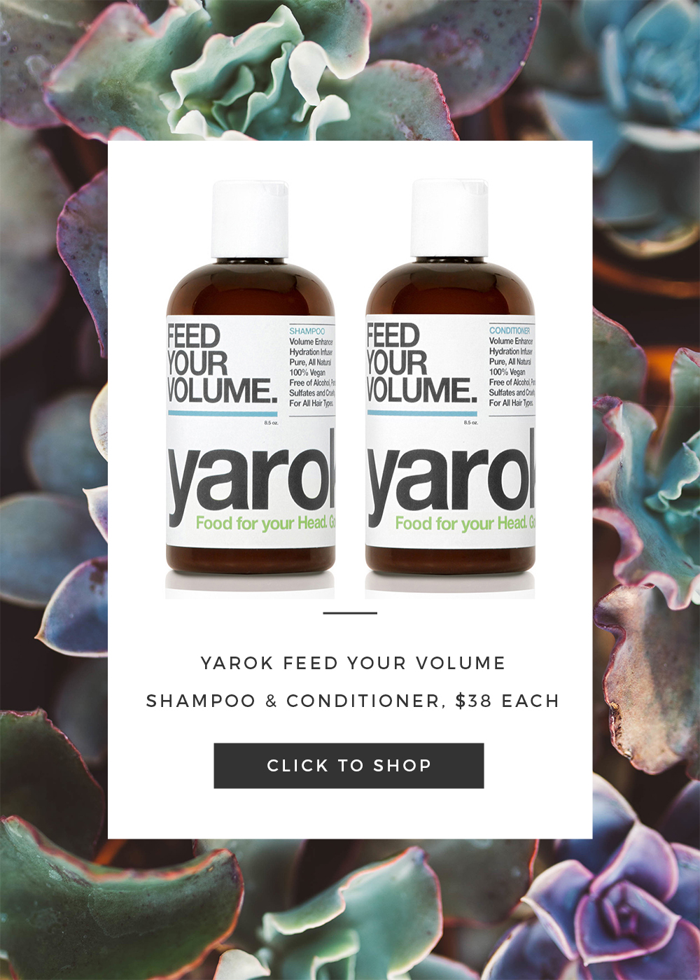 Yarok Feed Your Volume Shampoo Conditioner
