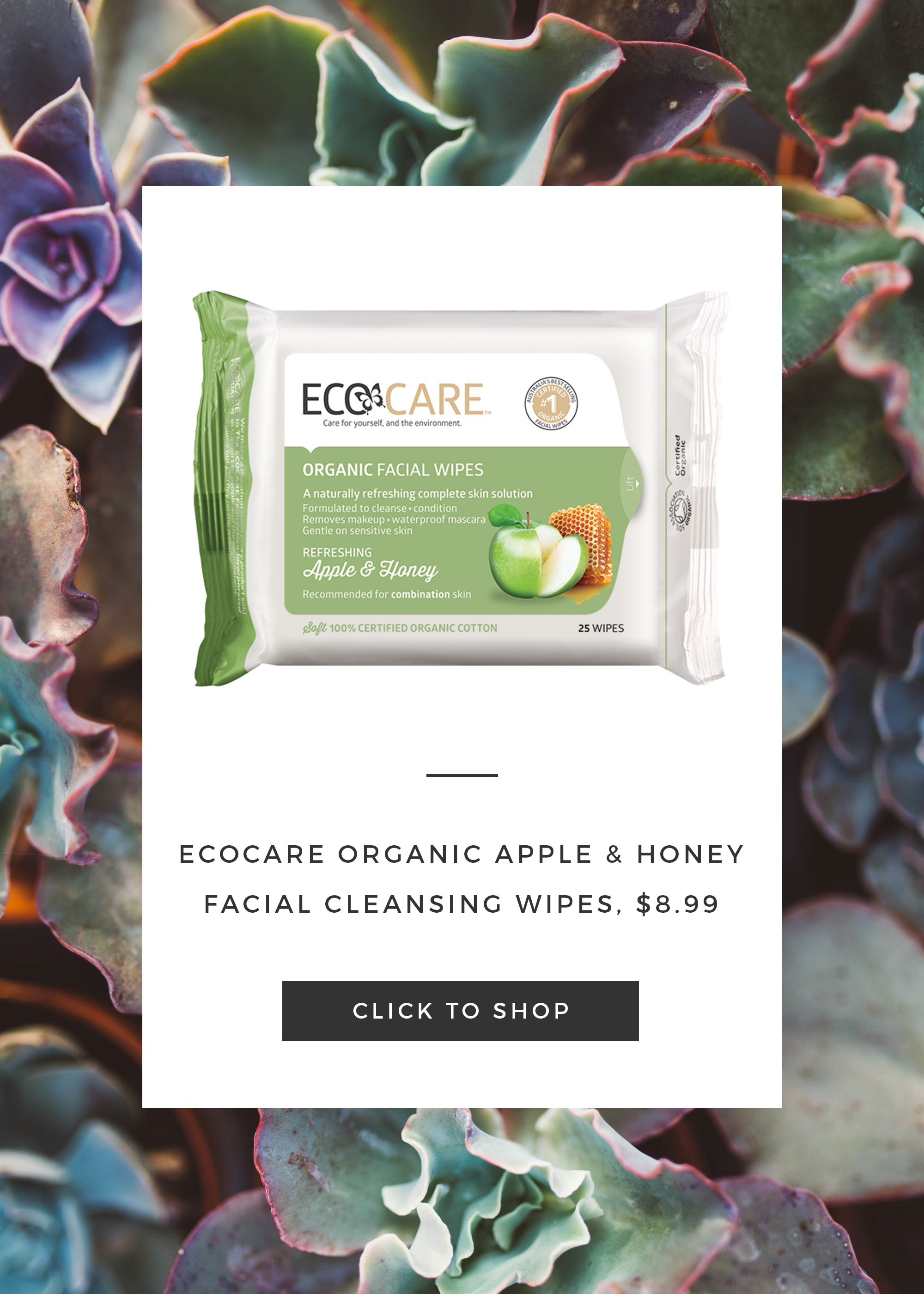 ecocare face wipes
